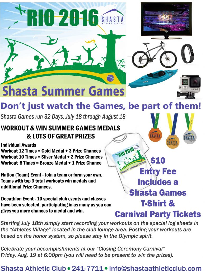 Summer Games Flier 2016